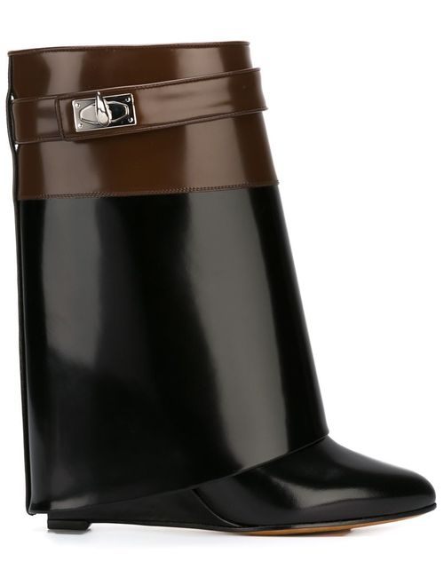 Givenchy | Женское Чёрный Shark Lock Boots