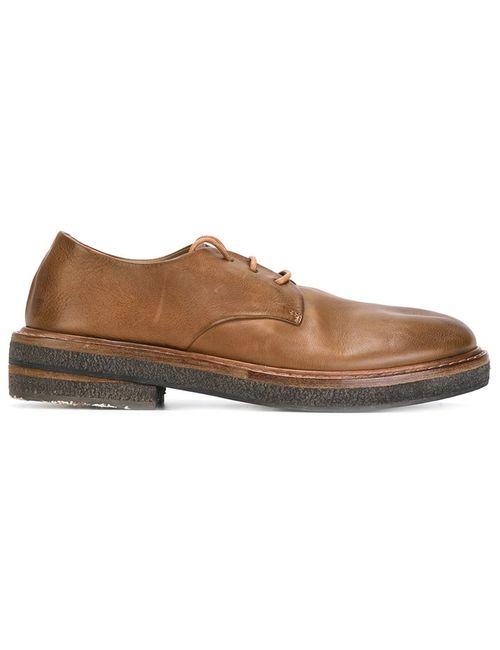 Marsell | Женские Коричневые Ботинки Дерби С Эффектом Поношенности