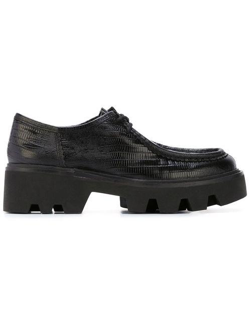 Ash | Женские Чёрные Туфли На Массивной Подошве