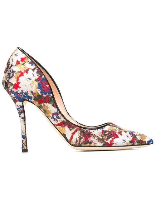 Rupert Sanderson | Женские Многоцветные Туфли Ariel
