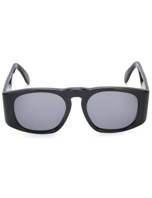 Chanel Vintage | Женское Чёрный Quilted Detailing Sunglasses