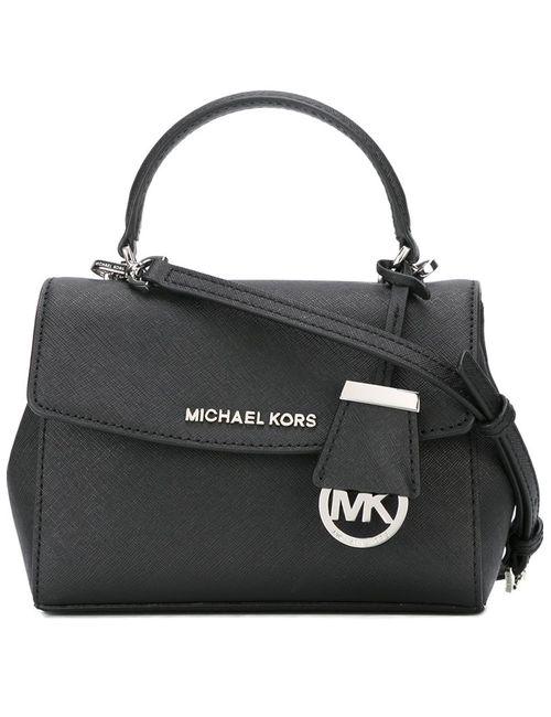 Michael Michael Kors | Женская Чёрная Сумка Ava На Плечо