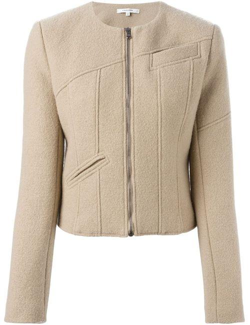 Carven | Женская Укороченная Куртка На Молнии