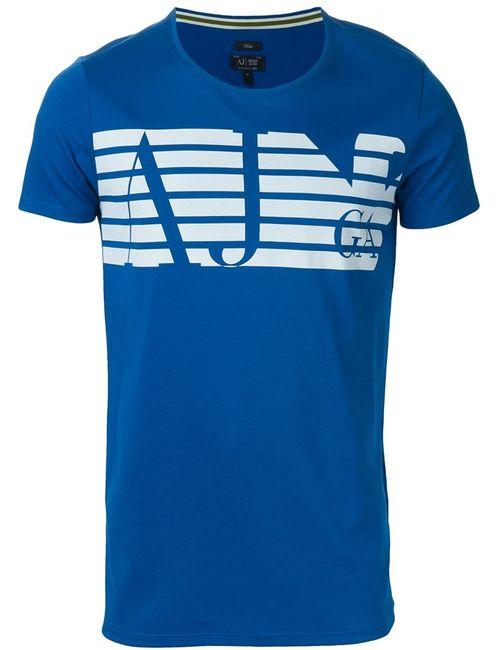 ARMANI JEANS | Синий Printed T-Shirt