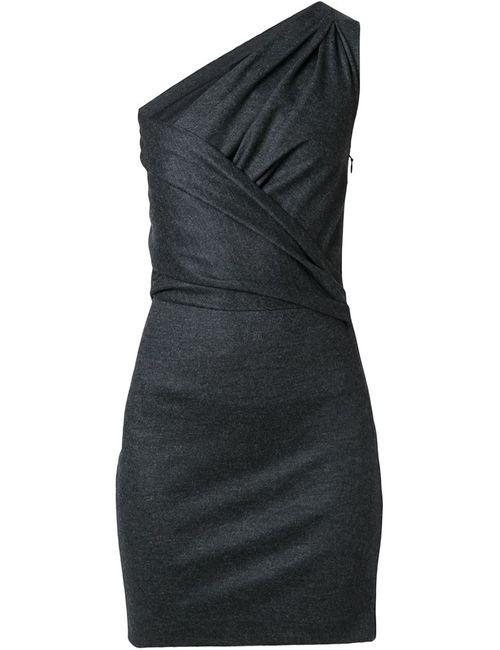 Dsquared2 | Женское Серое Платье На Одно Плечо