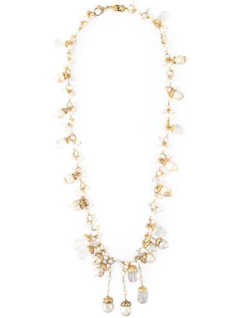 Rosantica | Женское Белый Pinoli Necklace