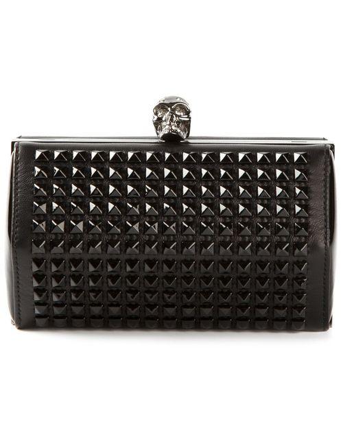 Alexander McQueen | Женское Чёрный Hexagon Studded Clutch