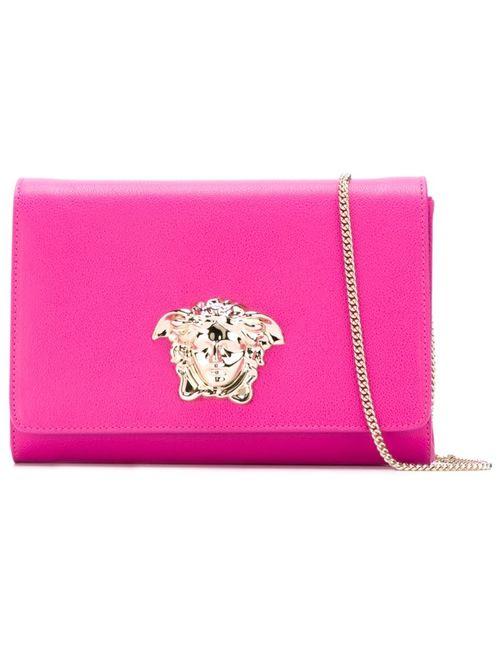 Versace | Женский Розовый Клатч Palazzo