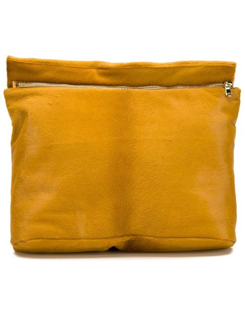 Derek Lam | Женское Желтый Zipped Clutch Bag