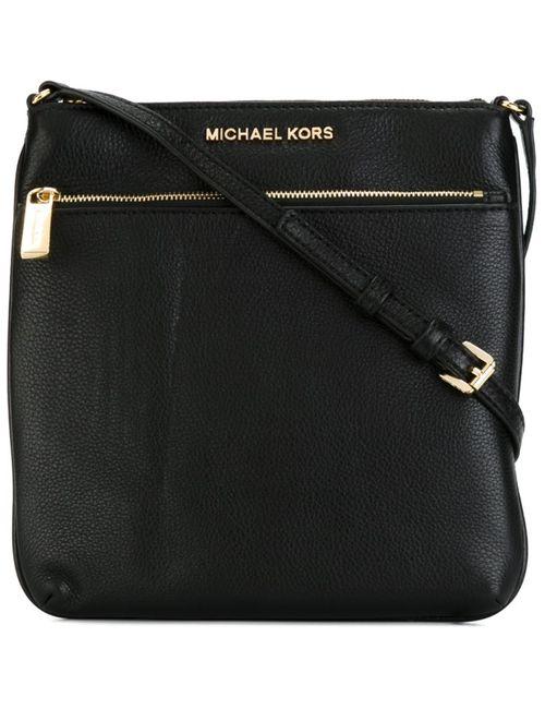 Michael Michael Kors   Женское Чёрный Logo Plaque Crossbody Bag