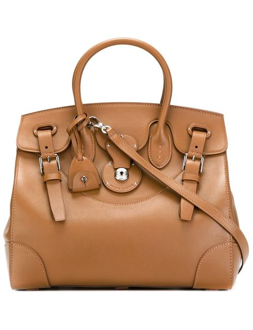 Ralph Lauren | Женское Коричневый Large Buckle Detail Tote