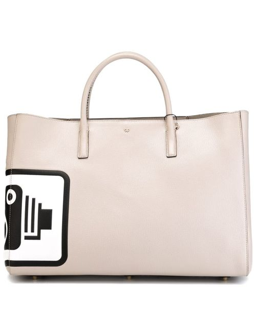 Anya Hindmarch | Женское Speed Camera Maxi Featherweight Ebury Tote