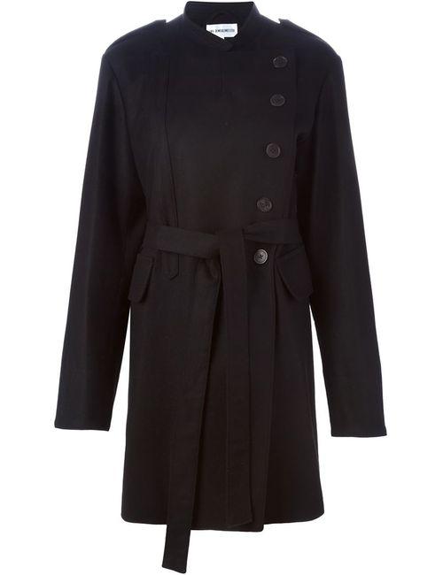 Ann Demeulemeester | Женское Черный Пальто С Поясом