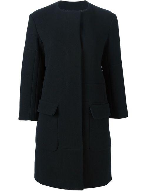 Jil Sander | Женское Черный Однобортное Пальто