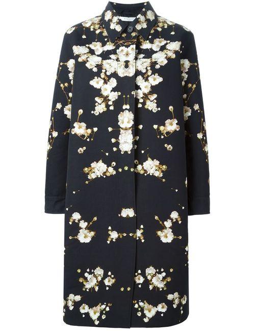 Givenchy | Женское Черный Пальто С Цветочным Принтом