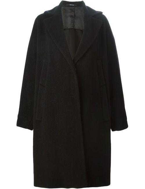 Maison Margiela | Женское Чёрное Свободное Пальто