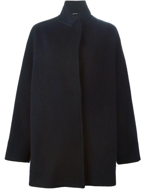 Maison Margiela | Женское Синее Свободное Пальто