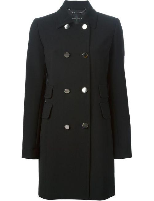 Barbara Bui | Женское Чёрное Двубортное Пальто
