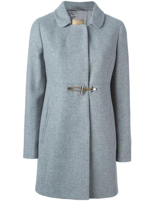 Fay | Женское Серое Однобортное Пальто