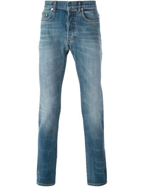 Dior Homme | Мужские Синие Джинсы Кроя Слим