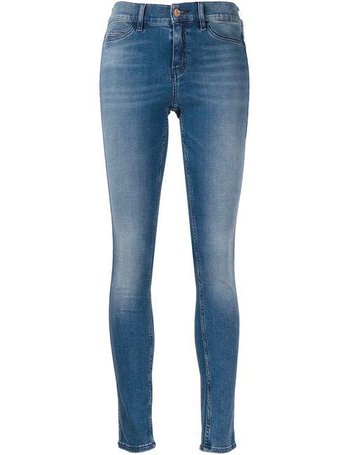 Mih Jeans | Женские Синие Выбеленные Джинсы Кроя Скинни