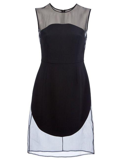 Stella Mccartney | Женское Чёрный Sheer Detail Dress