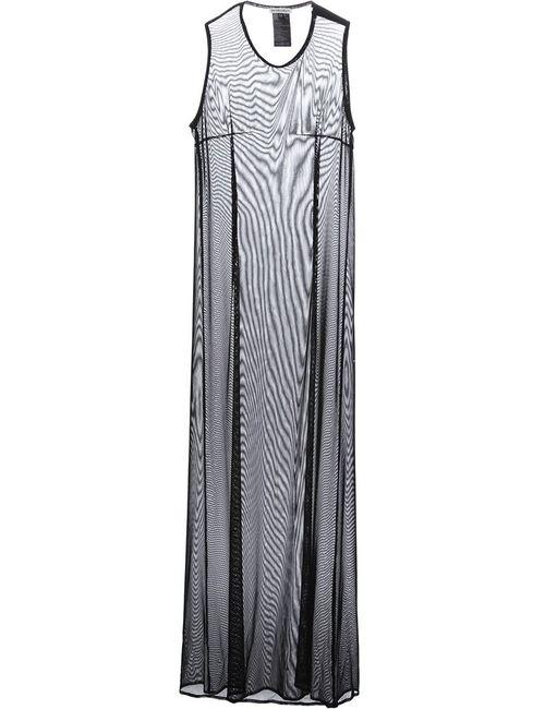Ann Demeulemeester | Женское Черный Полупрозрачное Платье