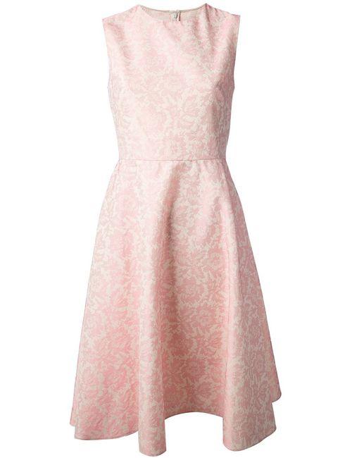 Valentino | Женское Розовый Jacquard Dress