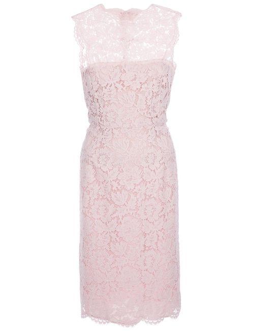 Valentino | Женское Розовый Sleeveless Macramé Dress