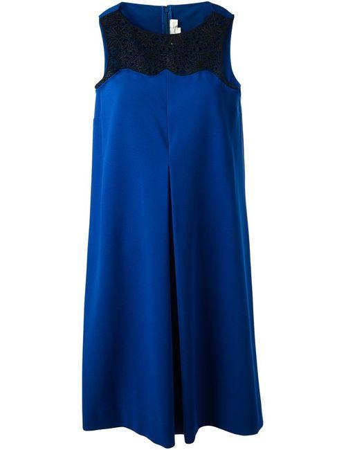 Stella Mccartney | Женское Синий Lace Panel Dress