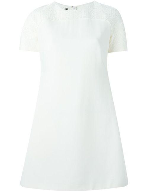 Giambattista Valli | Женское Nude & Neutrals Платье Шифт С Вышивкой