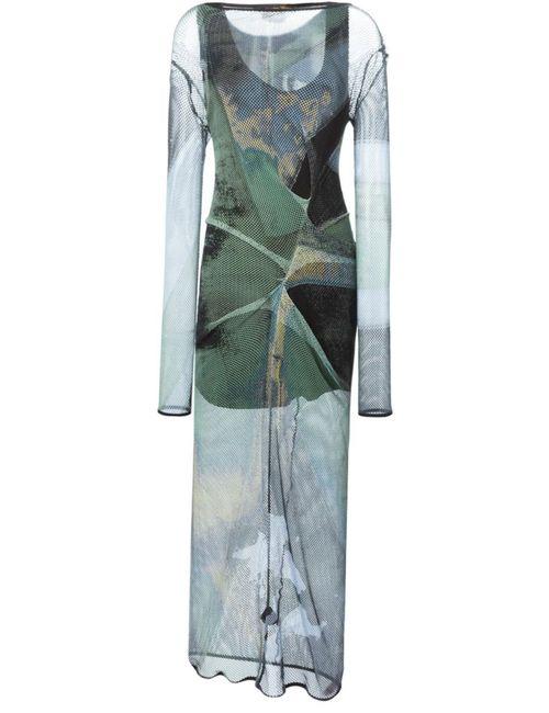 Vivienne Westwood Anglomania | Женское Зелёное Платье Taxa