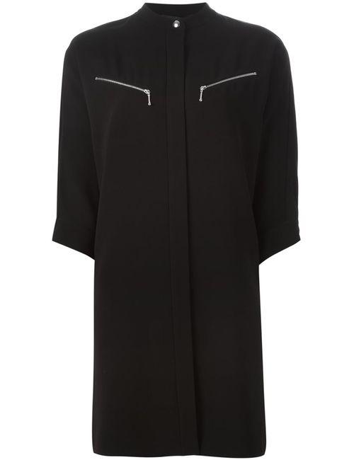Alexander Wang | Женское Чёрный Band Collar Shirt Dress