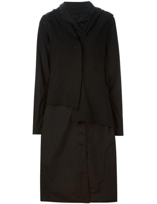 Rundholz | Женское Чёрный Hooded Shirt Dress