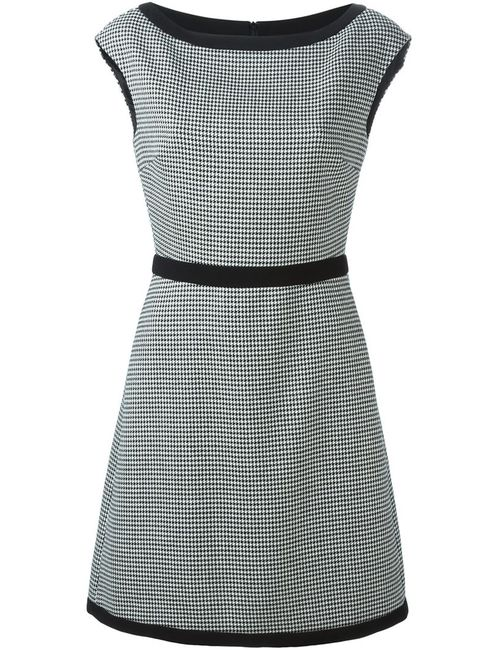 BOUTIQUE MOSCHINO | Женское Белый Houndstooth A-Line Dress