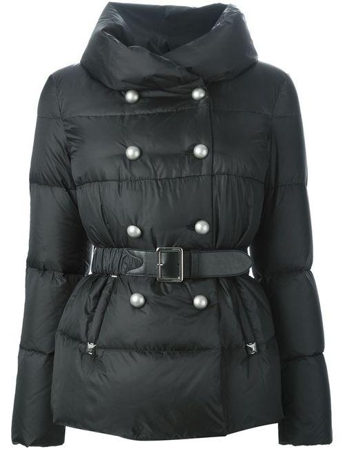 Ermanno Scervino | Женская Чёрная Двубортная Дутая Куртка