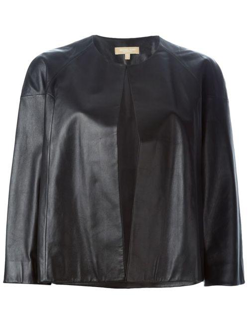 Michael Kors   Женская Черный Укороченная Куртка