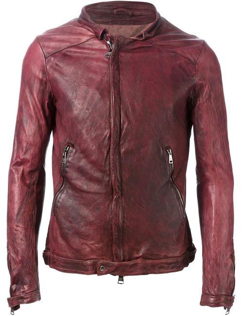 Giorgio Brato   Мужская Красная Куртка На Молнии