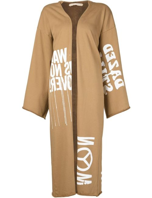 OFF-WHITE | Женское Nude & Neutrals Printed Cardi-Coat