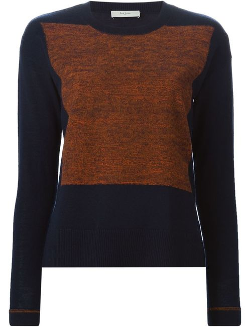 Paul By Paul Smith | Женское Синий Knitted Panel Sweater
