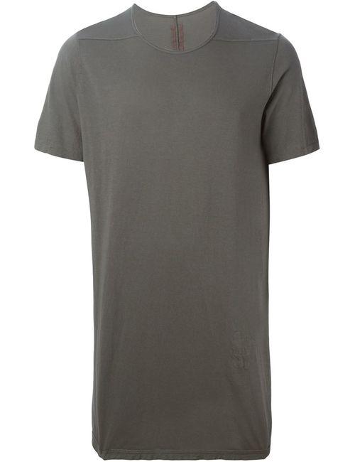 RICK OWENS DRKSHDW | Мужское Серый Long T-Shirt