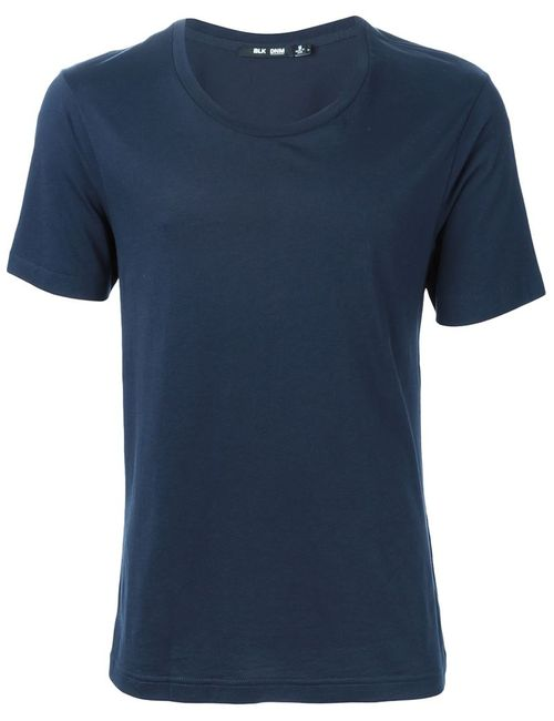 Blk Dnm | Синий Round Neck T-Shirt