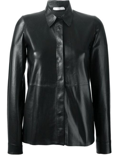 DESA | Женская Чёрная Рубашка Классического Кроя