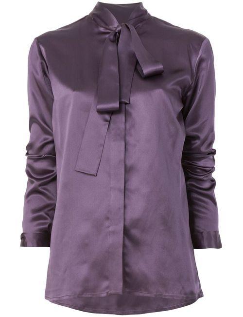Haider Ackermann | Женская Розовая Рубашка С Завязками На Бант