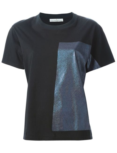 Golden Goose | Женское Чёрный Hologram Panel T-Shirt
