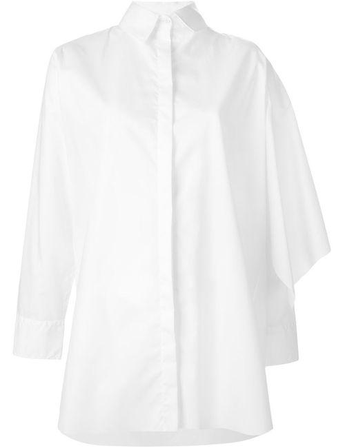 Marques Almeida | Женская Белая Драпированная Рубашка
