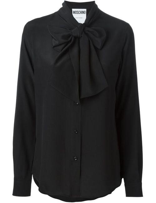 Moschino | Женское Чёрный Pussybow Blouse