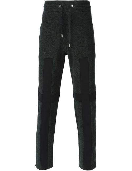 Givenchy | Мужские Серые Спортивные Брюки С Аппликацией