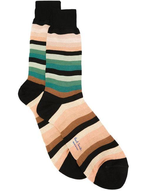 Paul Smith | Мужское Черный Striped Socks