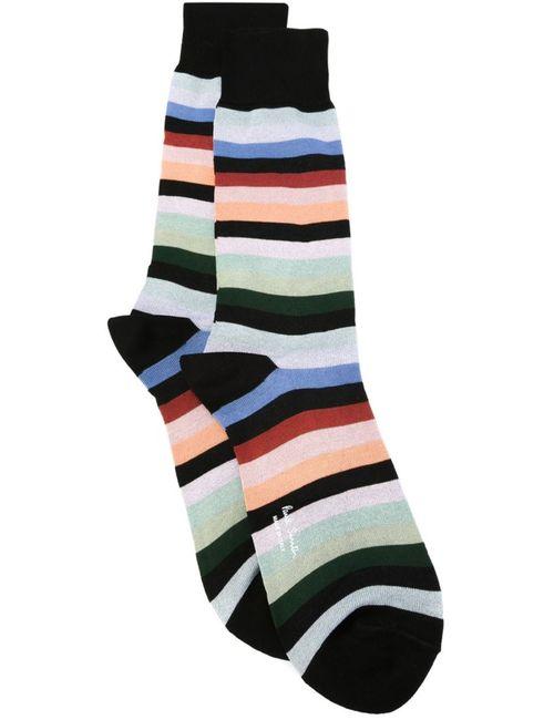 Paul Smith | Мужское Чёрный Striped Socks